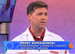 Perry Romanowski says toxic ingredients in cosmetics is unscientific nonsense