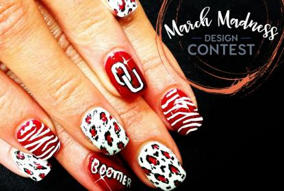 March Madness Nail Art Contest!